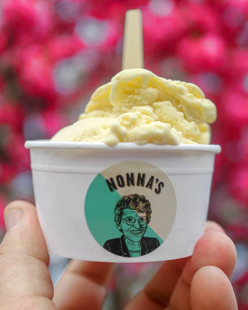 The Scooping Queen - Nonna's Gelato