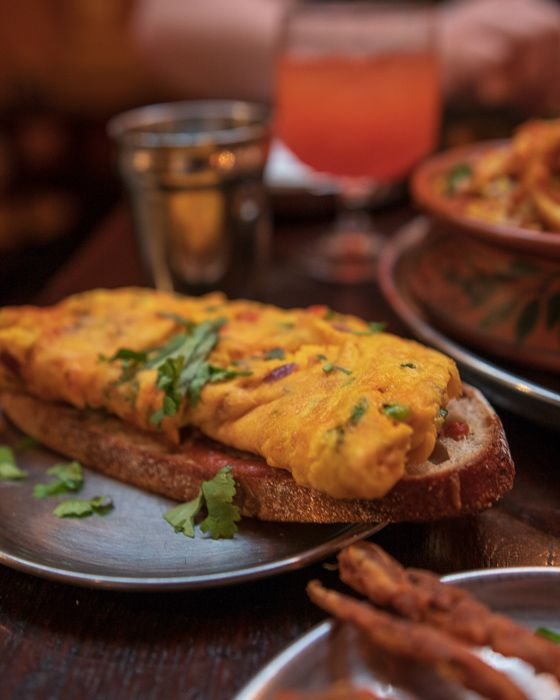 Masala Cheese Omlette